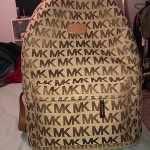 Authentic Michael Kors Jet Set Backpack Large